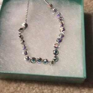 Swarovski Crystal  adjustable bracelet